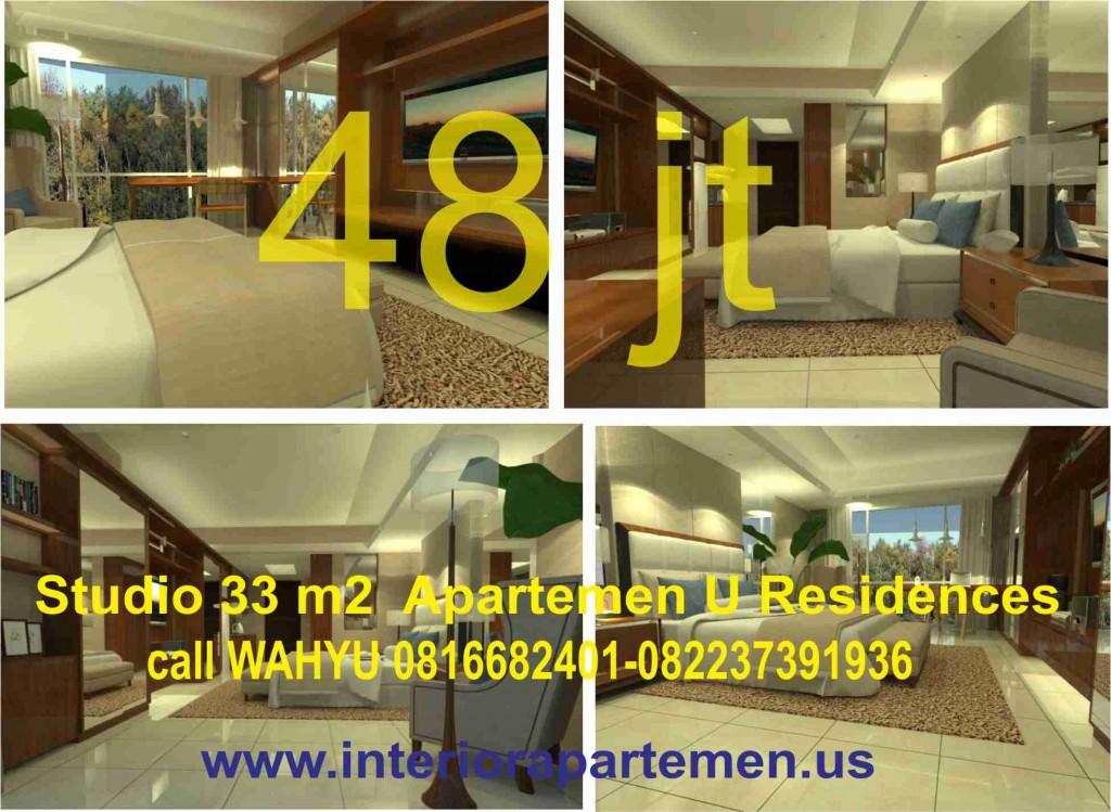 apartemen U residences studio