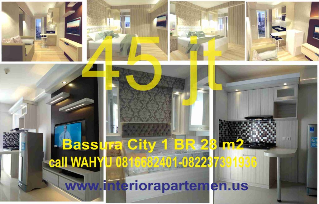 apartemen bassura 1BR tower D