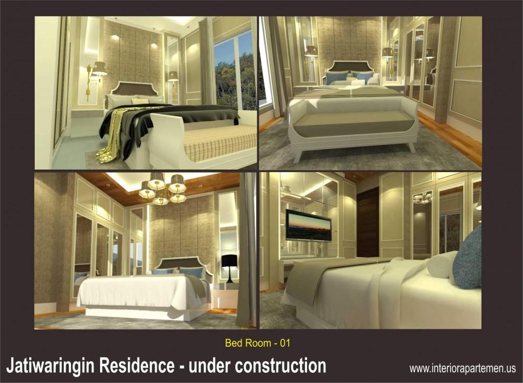 jatiwaringin residences - bedroom 01