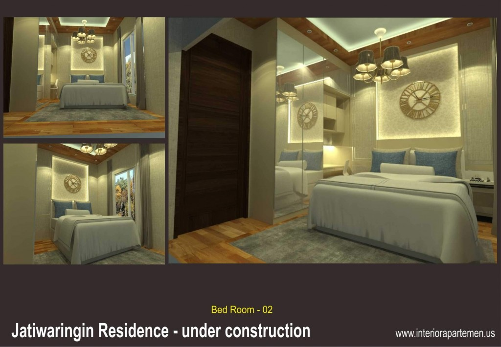 jatiwaringin residences - bedroom 02