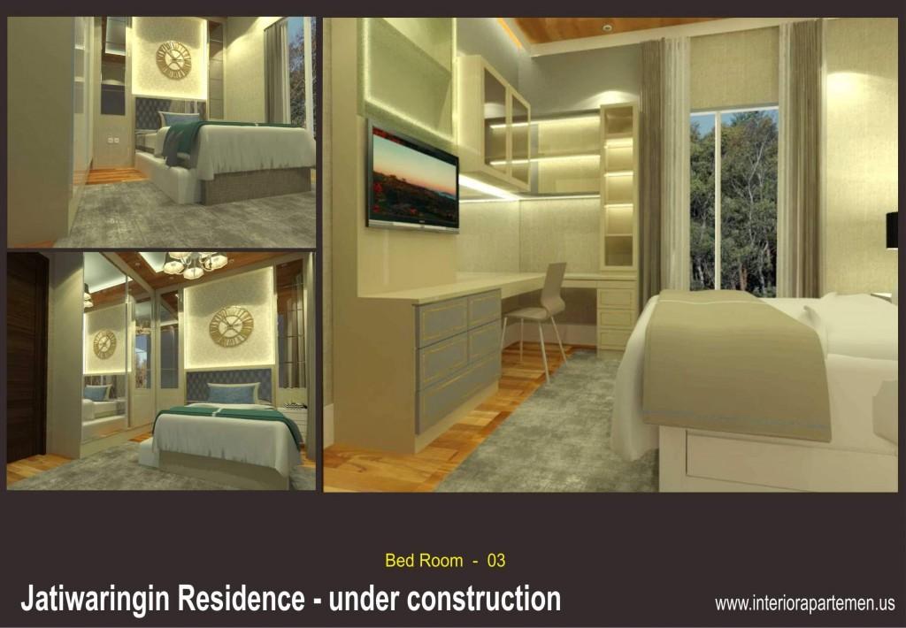 jatiwaringin residences - bedroom 03