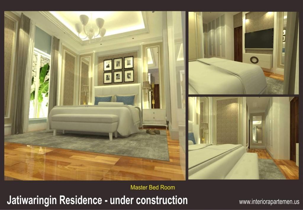 jatiwaringin residences - master bedroom